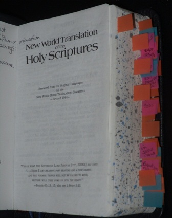 Tabbed NWT Bible